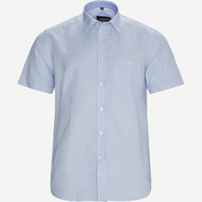 Kortärmade skjortor - Regular - Blå